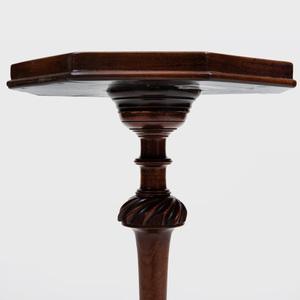 George III Mahogany Candlestand