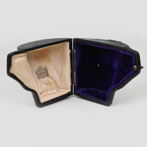 George V Irish Silver Mug in a Fitted Leather Case