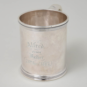 Tiffany & Co. Silver Mug