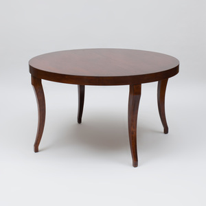 David Iatesta Stained Walnut 'Cavallo' Dining Table