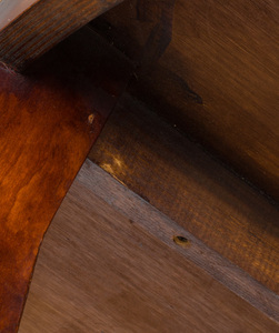 David Iatesta Stained Walnut 'Cavallo' Dining Table