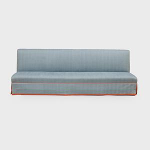 Banquette Upholstered in Tilton Fenwick 'Dorado' Fabric