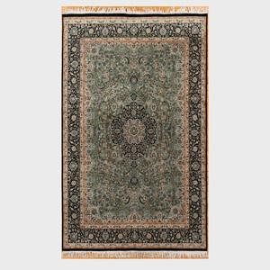 Small Persian Black Ground Carpet