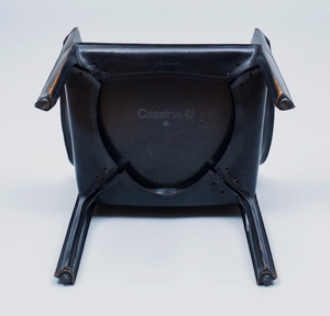 Mario Bellini Leather 'Cab' Arm Chair, for Cassina