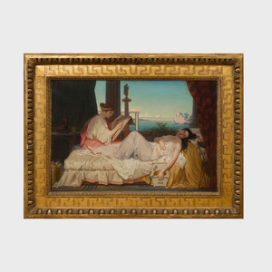 Attributed to Jean-Louis Hamon (1821-1874): Grecian Ladies