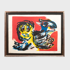 Karel Appel (1921-2006): Untitled