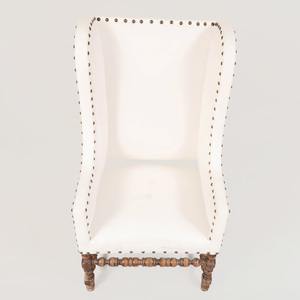 Flemish Baroque Style Wing Armchair