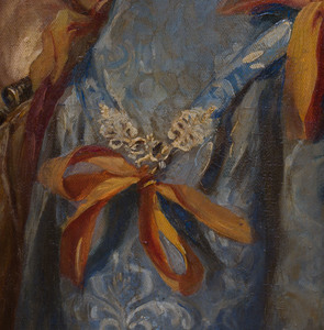 Emanuela Sedivy: Portrait de la petit Princesse de Croy, After Van Dyke