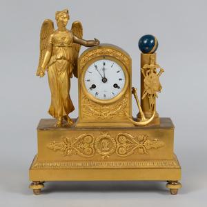 J. Cleinge Belgian Ormolu Mantel Clock