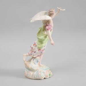 Derby Porcelain Figure of Fame