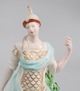 Derby Porcelain Figure of Britannia