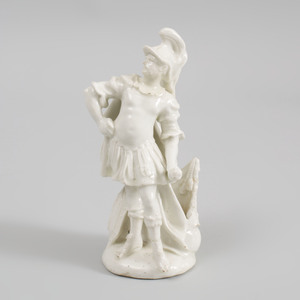 Derby Porcelain White (Dry Edge) Figure of Mars