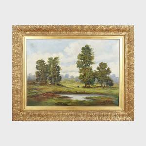 Valerio Rotini (1911-?): Landscape