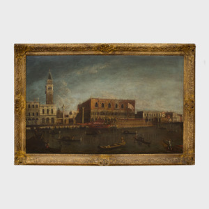 School of Michele Giovanni Marieschi (1696/1710-1743): A View of the Bacino di San Marco, Venice