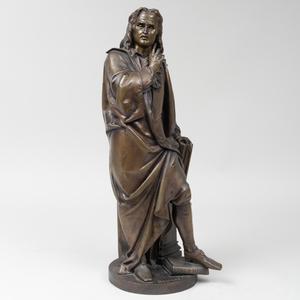 Albert-Ernest Carrier-Belleuse (1824-1887): John Milton