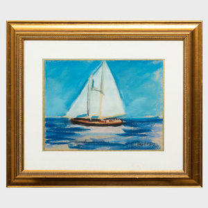 Paul Lucien Maze (1887-1979): Sailboat