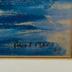 Paul Lucien Maze (1887-1979): Sailboat
