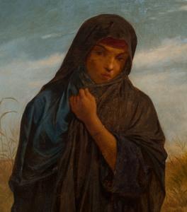 European School: Woman in a Wheat Field