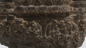 Fine Eastern India Carved Grey Schist Model of a Dancing Ganesha