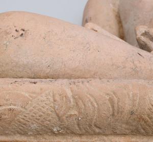 Indian Carved Sandstone Figure of Jina