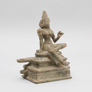South India Bronze Figure of Bhudevi, Tamil Nadu