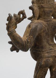 South India Bronze Figure of a Standing Ganesha, Tamil Nadu