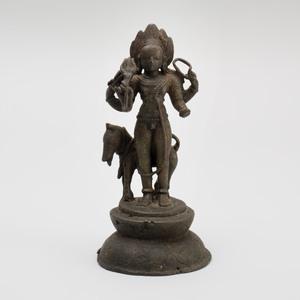 Indian Bronze Figure of Bhairava