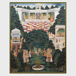 Indian Painted Pichhavai, Rajasthan, Nathdwara