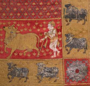 Indian Painted Pichhavai, Deccan