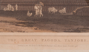 Thomas Daniell (1749-1840): The Great Pagoda, Tandore