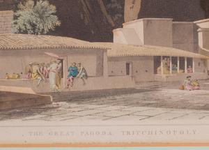 Thomas Daniell (1749-1840): The Great Pagoda, Trichinopoly