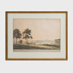 Thomas Daniell (1749-1840): Part of the Black Town, Madras