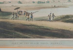 Thomas Daniell (1749-1840): Part of the Black Town, Madras