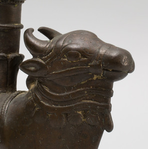 Indian Bronze Figure of Nandi