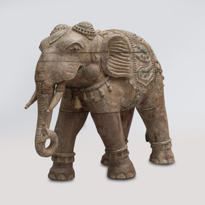 Indian Carved Hardwood Elephant
