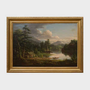 Henry Ary (1802-1859): A Camp in the Catskills