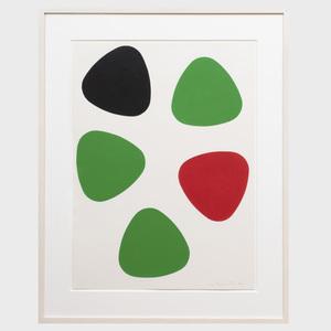 Leon Polk Smith (1906-1996): Untitled