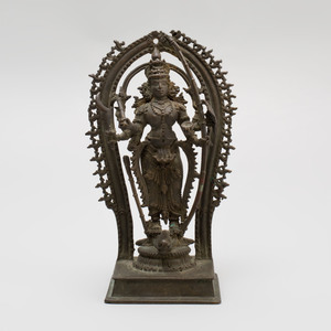 South India Bronze Hindu Goddess Durga, Kerala