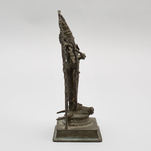 South India Bronze Hindu Goddess Durga, Kerala