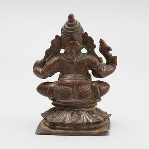South India Bronze Figure of a Ganesha