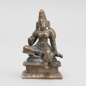 South India Bronze Goddess
