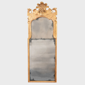 George II Giltwood Pier Mirror