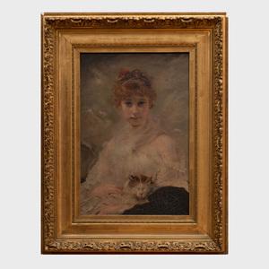 Attributed to Charles Joshua Chaplin (1825-1891): Her Favorite