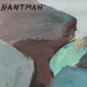 Murray Hantman (1904-1999): Table Rock; Ghosts; Bottom of Blackhead; and Rock Cluster