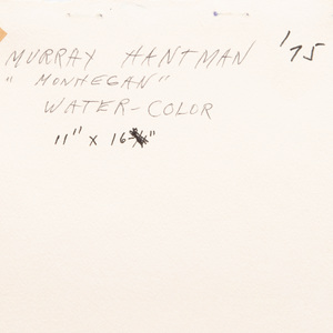 Murray Hantman (1904-1999): Monhegan Mist; and Monhegan