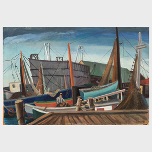 Martha Levy: Gloucester Dock; and Dockside