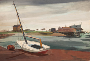 Martha Levy: Gloucester Dock; and Dockside