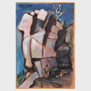 Murray Hantman (1904-1999): Crow's Nest: and Monolith