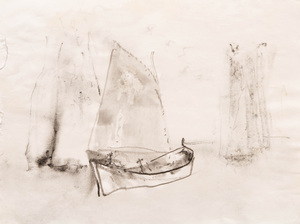 William Thon (1906-2000): Under Way;  and Boat Study