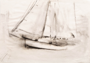 William Thon (1906-2000): Boat Sketches: A Group of Ten
